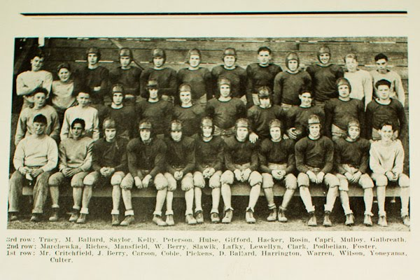 Original 1936 Football Team