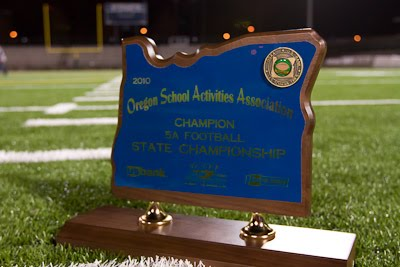 State Championship Trophy from 2010