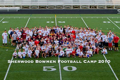 Sherwood Youth Football Camp 2010